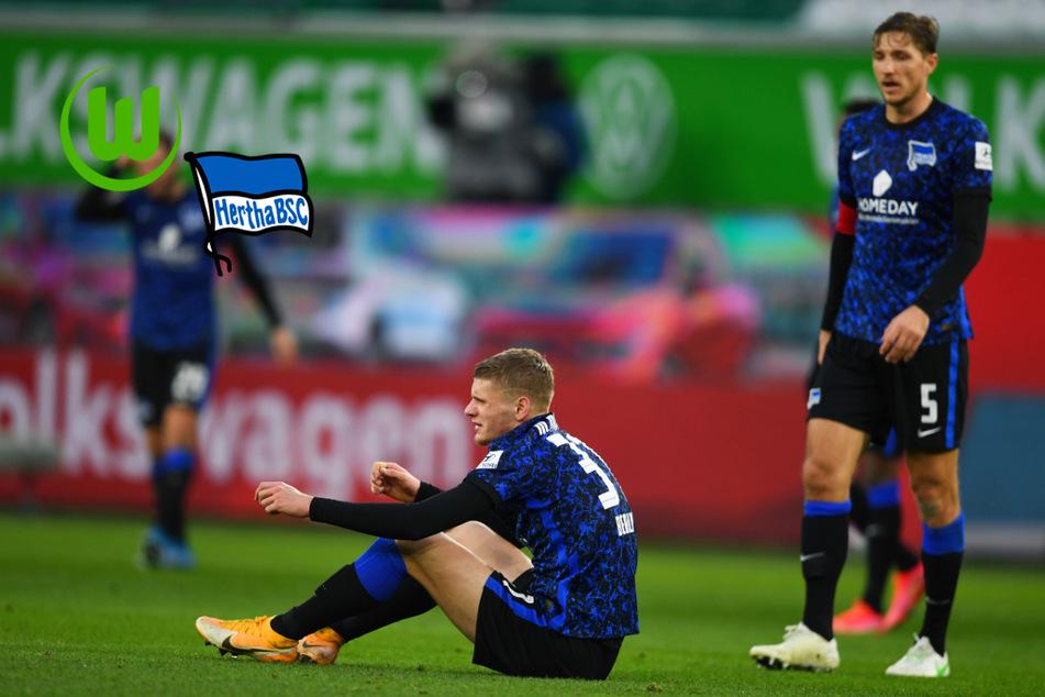 Hertha BSC taumelt weiter dem Abstieg entgegen und kassiert Pleite in Wolfsburg!