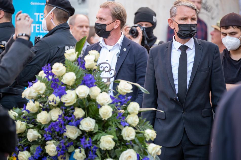 """Höcke gedenkt der Opfer von Würzburg: Morde seien """"Ergebnis von politischen Entscheidungen"""""""