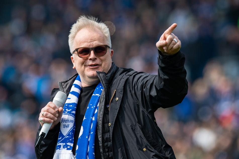 """2019: Herbert Grönemeyer (64) singt das Lied """"Bochum""""."""