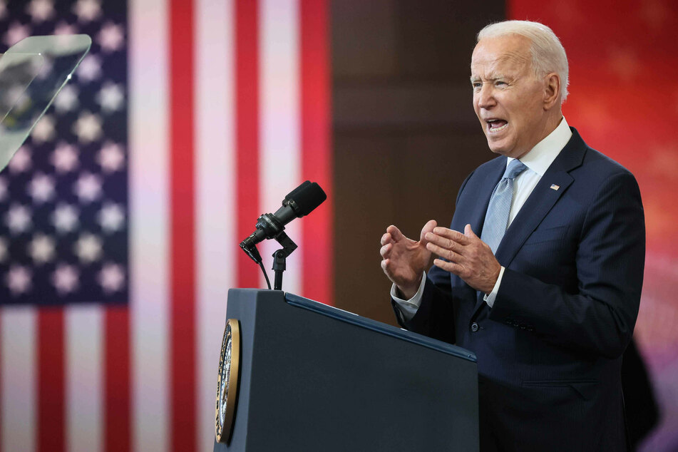 """President Biden blasts Republicans in speech defending """"the sacred right to vote"""""""