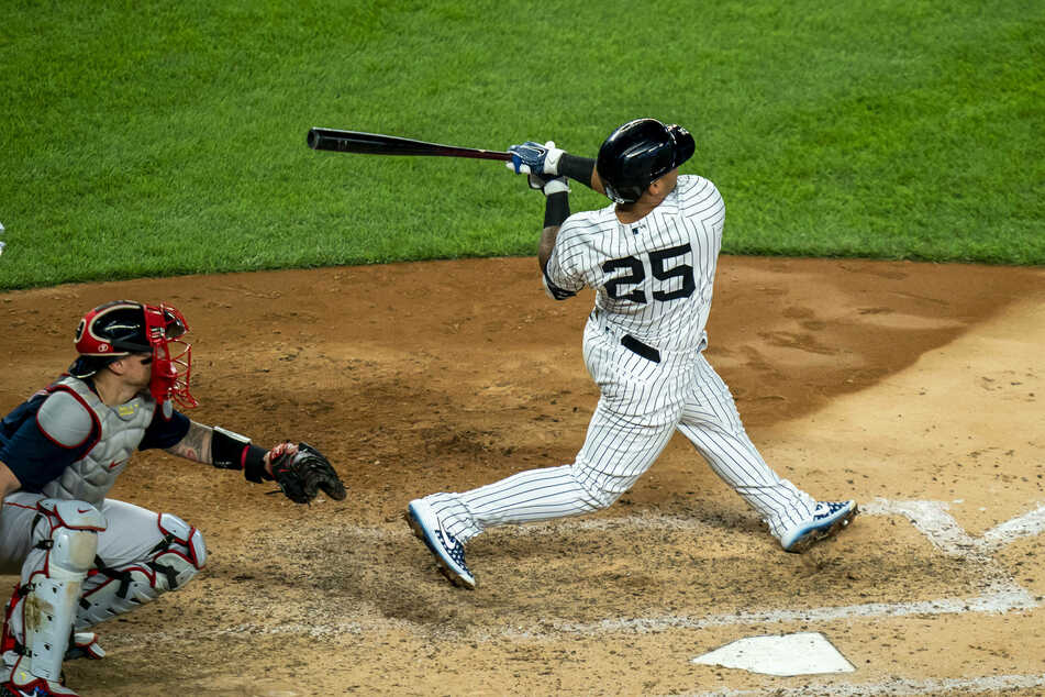 Gleyber Torres saved the day for the Yankees as they beat the Nationals in extra innings on Saturday