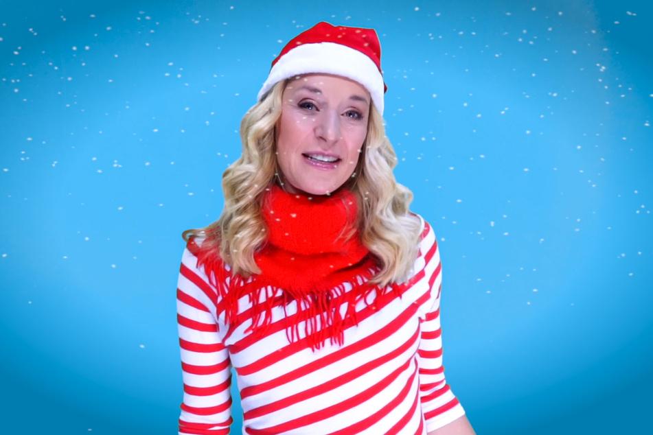 In ihrer neuen Single stimmt Stefanie Hertel auf Weihnachten ein.