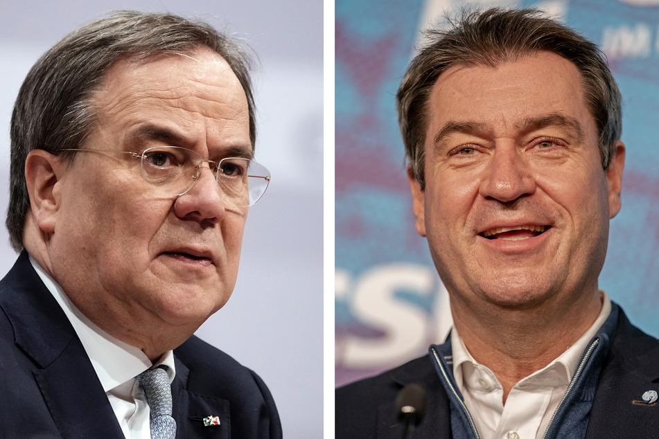 Die als Konkurrenten geltenden Parteivorsitzenden Armin Laschet (60, CDU) und Markus Söder (54, CSU) wollten die K-Frage ursprünglich erst bis Pfingsten geklärt haben.