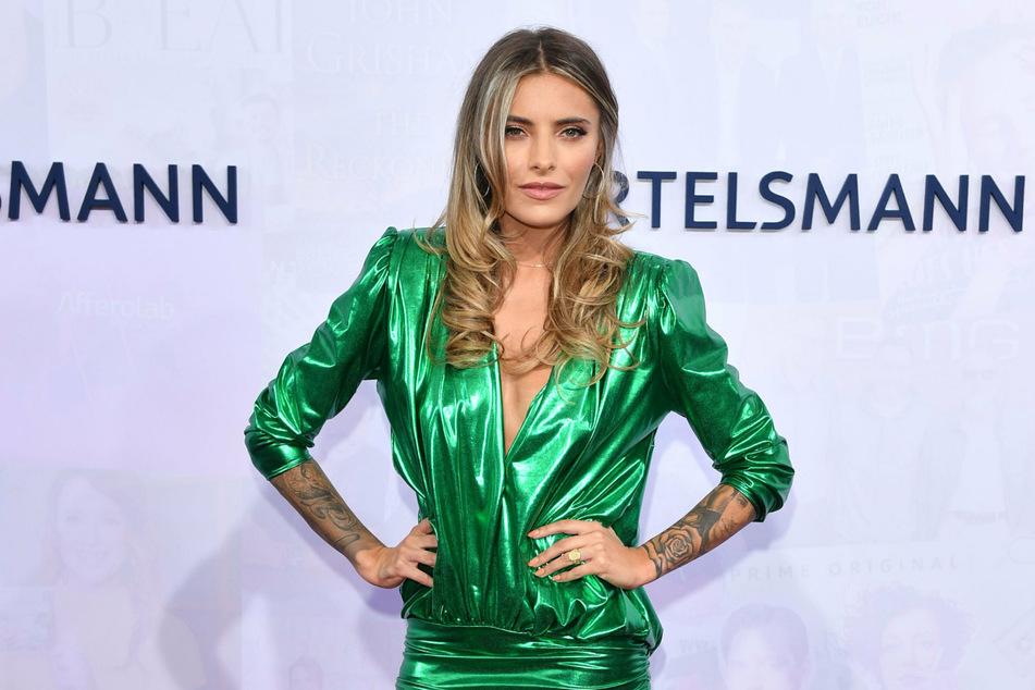 Schauspielerin Sophia Thomalla (31) kommt im September 2019 zu der Bertelsmann Party in der Bertelsmann Repräsentanz Unter den Linden. (Archivbild)