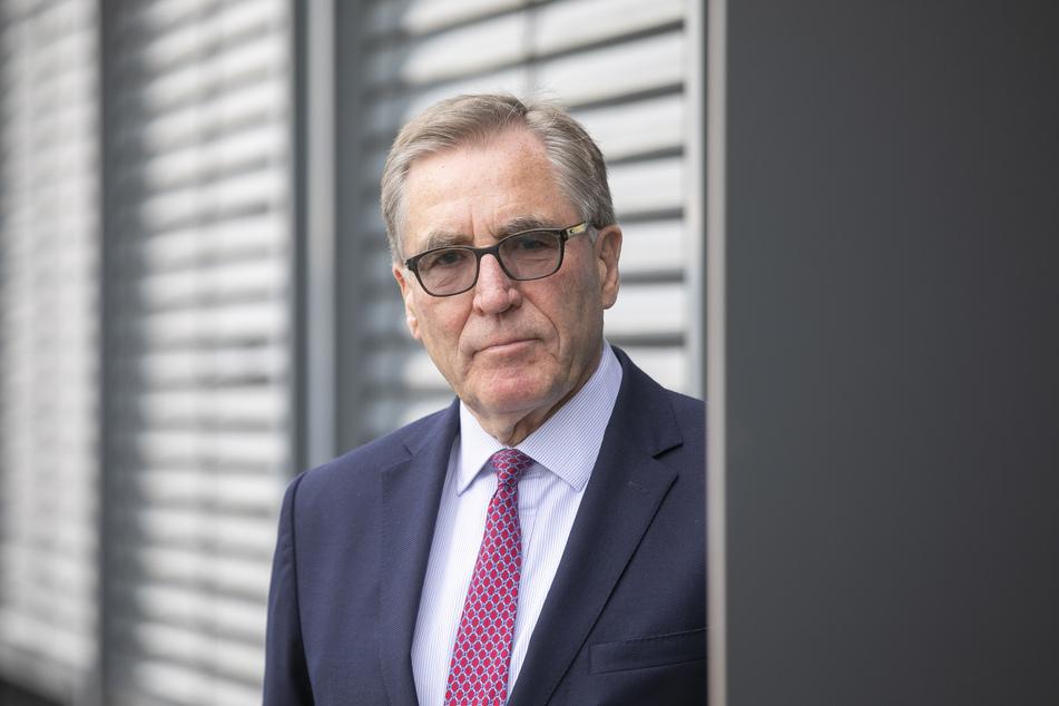 Dr. Andreas Sperl (72), Präsident der IHK Dresden.