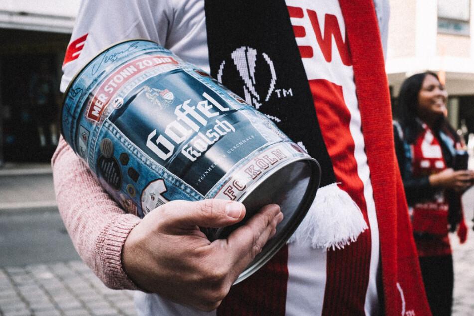 Der 1. FC Köln verlost über 3000 Liter Bier an Fans.