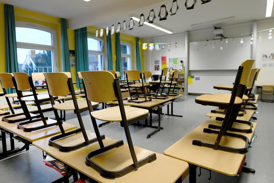 Ab Mittwoch bleiben Schulen und Kitas in Sachsen dicht.