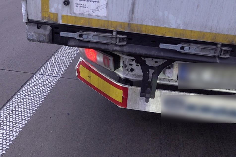 Der Fahrer des Lkw erlitt einen Schock.