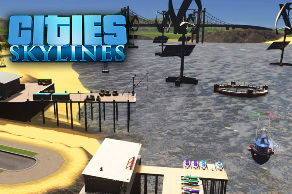 "Ran an den Lachs: ""Cities: Skylines, Sunset Harbor"" im Test"