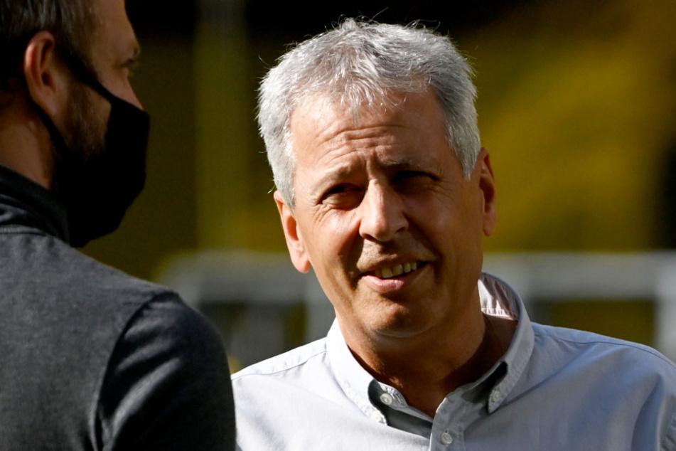 BVB-Coach Lucien Favre sorgte mit seiner Aussage nach dem Spitzenspiel für Aufregung.