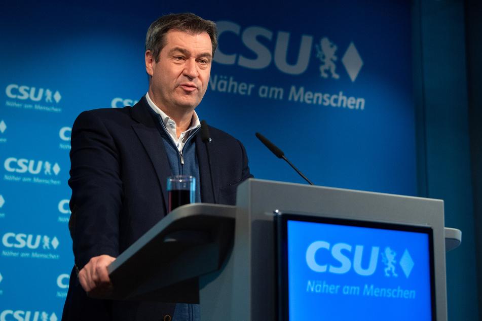 Markus Söder (53, CSU) ist der Ministerpräsident von Bayern.