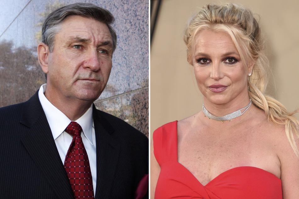 Jamie Spears (68, l.) ist der Vater und gemeinsam mit einem Finanztreuhändler der Co-Vormund von Britney.