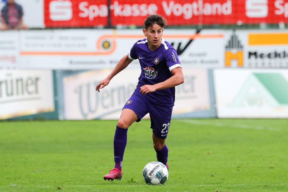Mittelfeldspieler Nicolas Sessa wechselt vom FC Erzgebirge Aue zum 1. FC Kaiserslautern.