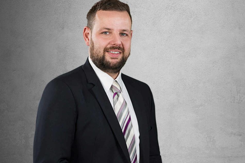 Hört auf die Polizei: Meißens CDU-Kreis-Chef Sebastian Fischer (39).