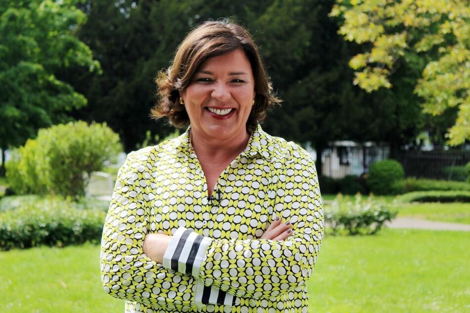 Natürlich mit von der Partie: Moderatorin Vera Int-Veen (52).