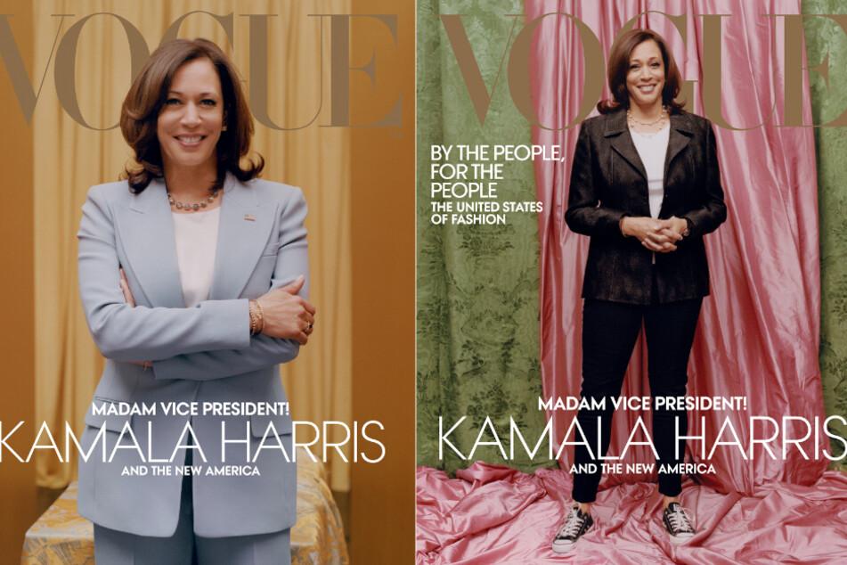 """Kontroverse um """"Vogue""""-Cover: Neues Bild von Kamala Harris ausgewählt"""