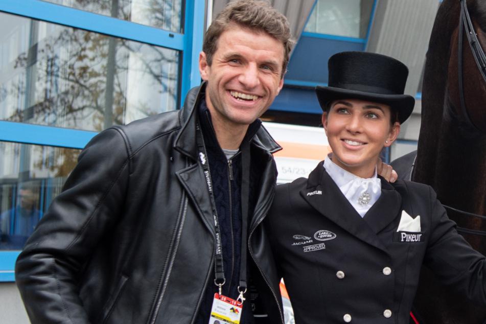 Thomas Müller und seine Frau Lisa: Millionen-Pferd für Sport und Zucht