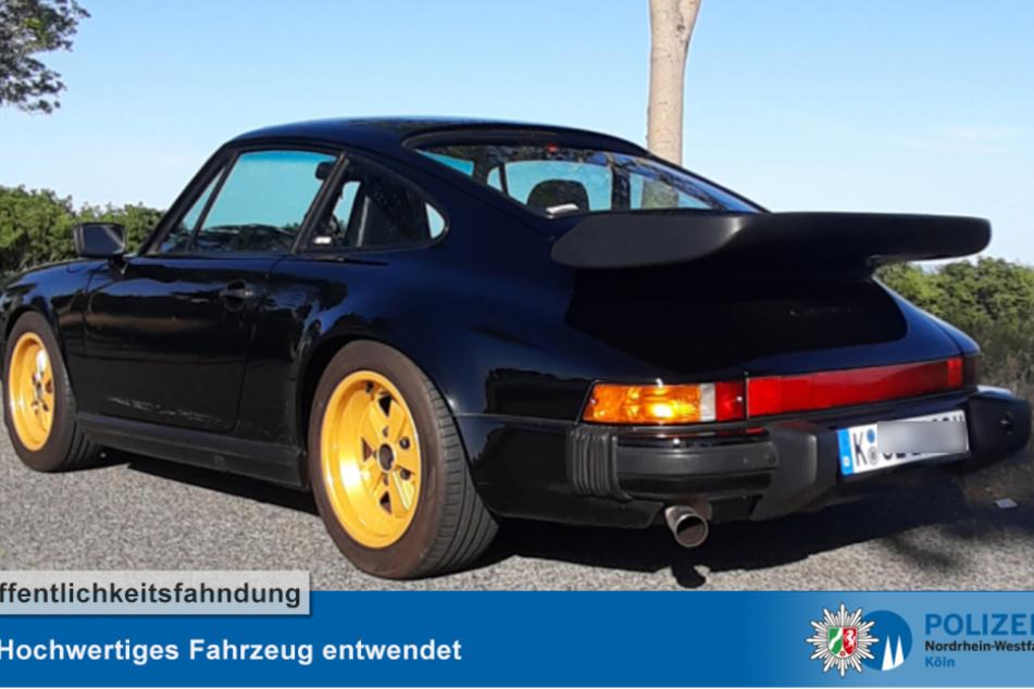 Diebe haben einen schwarzen Porsche Carrera 911 aus einer Tiefgarage in in der Rhöndorfer Straße entwendet.