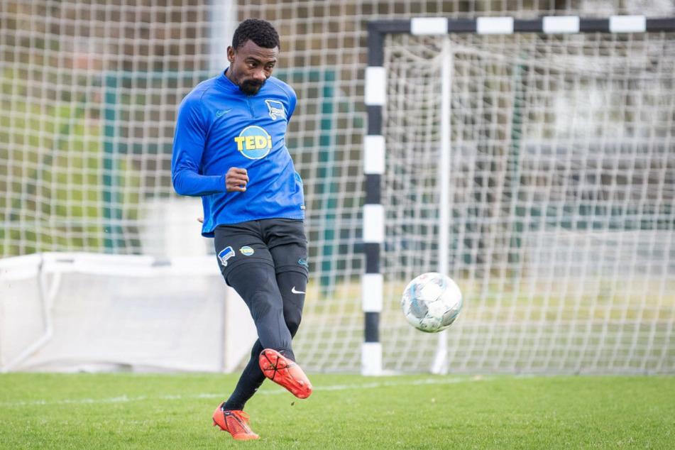 Salomon Kalou spielt seit 2014 bei Hertha BSC.