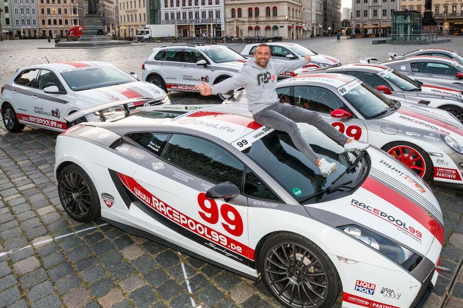 Rennfahrer-Legende Steve Mizera zeigt seinen spritzigen Fuhrpark