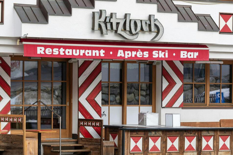 """Das """"Kitzloch"""", eines der angesagtesten Après-Ski-Lokale des Ortes."""