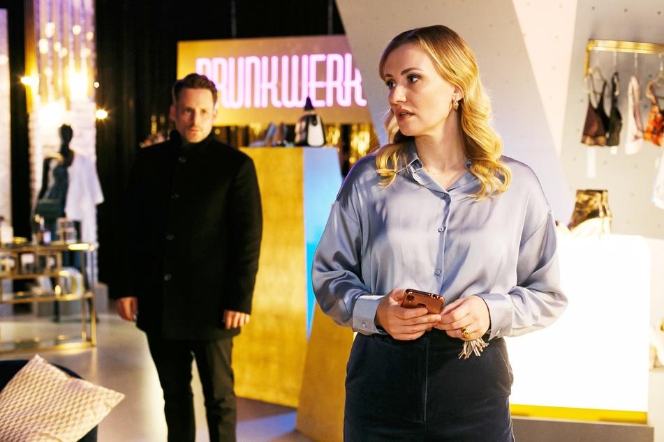 """Isabelle Reichenbach (Ania Niedieck) hat bei """"Alles was zählt"""" einen neuen Verehrer, der sie vor ein moralisches Dilemma stellt."""