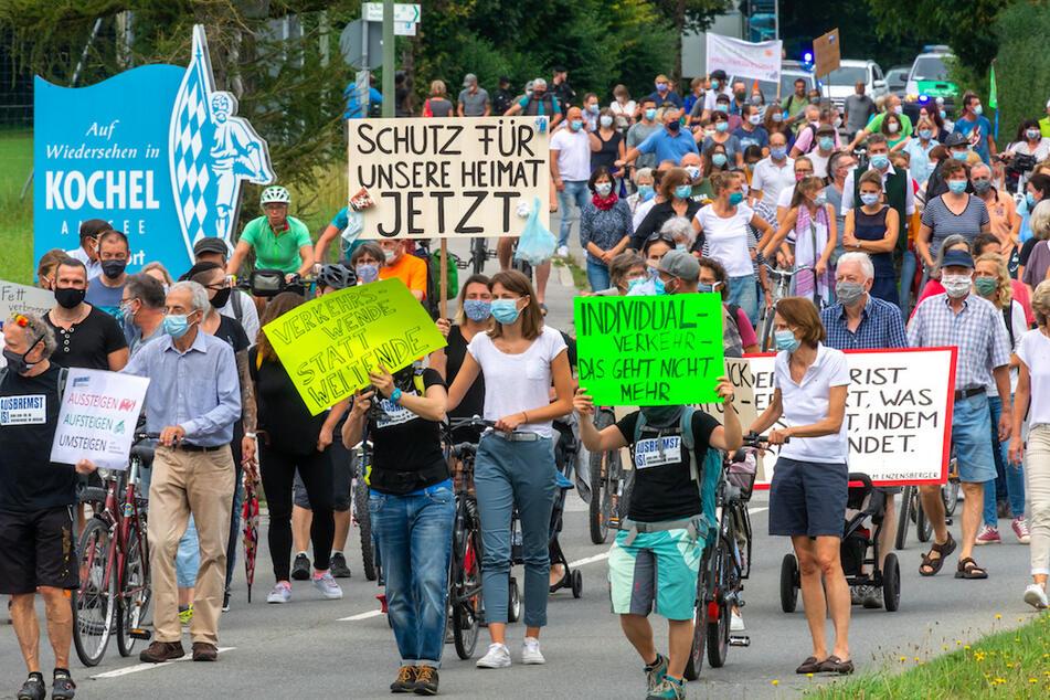 """""""Ausbremst is!"""": Hier wehren sich Anwohner gegen den Verkehrsinfarkt"""