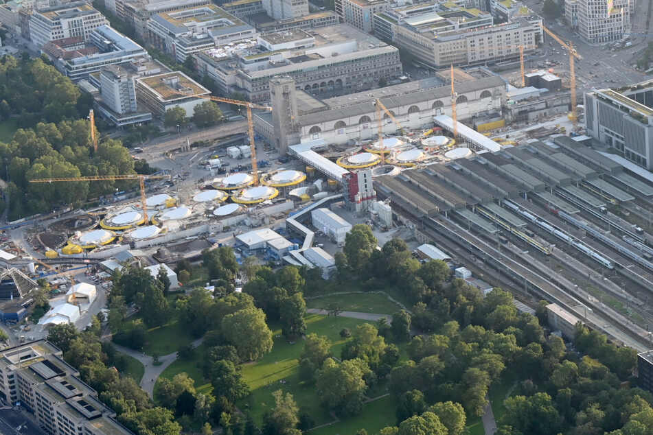 Milliarden-Projekt Stuttgart 21: Heute kommen die Schienen
