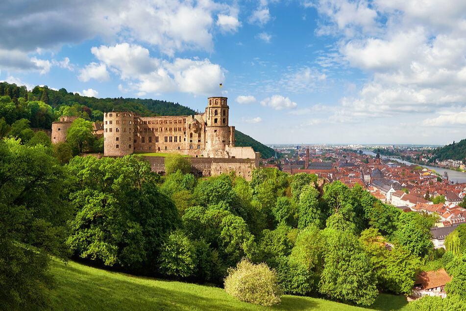 Das Heidelberger Schloss thront über der gleichnamigen Stadt.