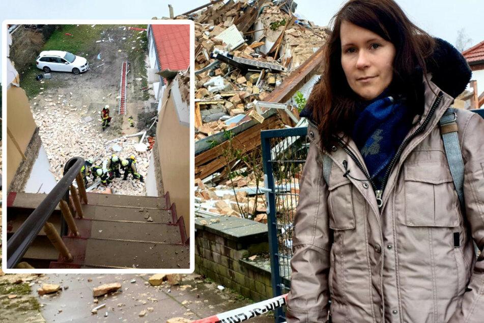 """""""Es war wie im Film"""": Als ihr Haus einstürzte, lag sie noch im Bett"""