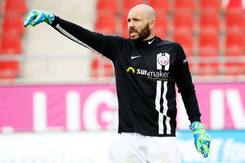 Markus Kolke zählt zu den besten Torhütern der 3. Liga und rettete dem FC Hansa Rostock schon so manchen Punkt.
