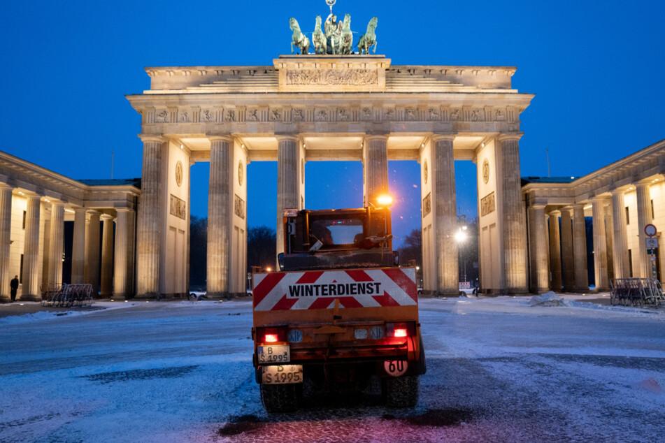 Auch in Berlin ist es bitterkalt.