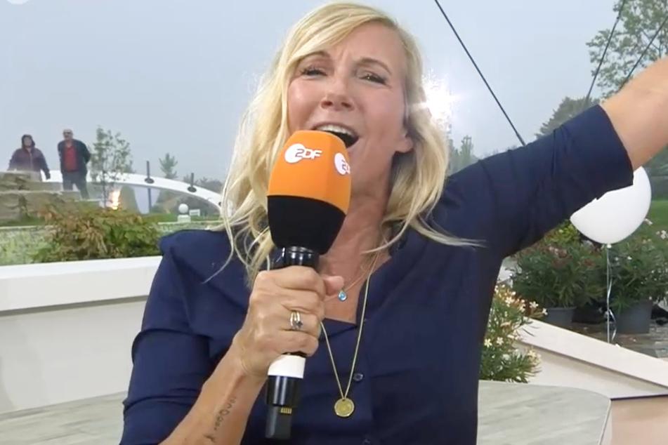 """Die ehemalige Leistungsschwimmerin Andrea """"Kiwi"""" Kiewel (56) ist das Gesicht des ZDF-Fernsehgartens."""