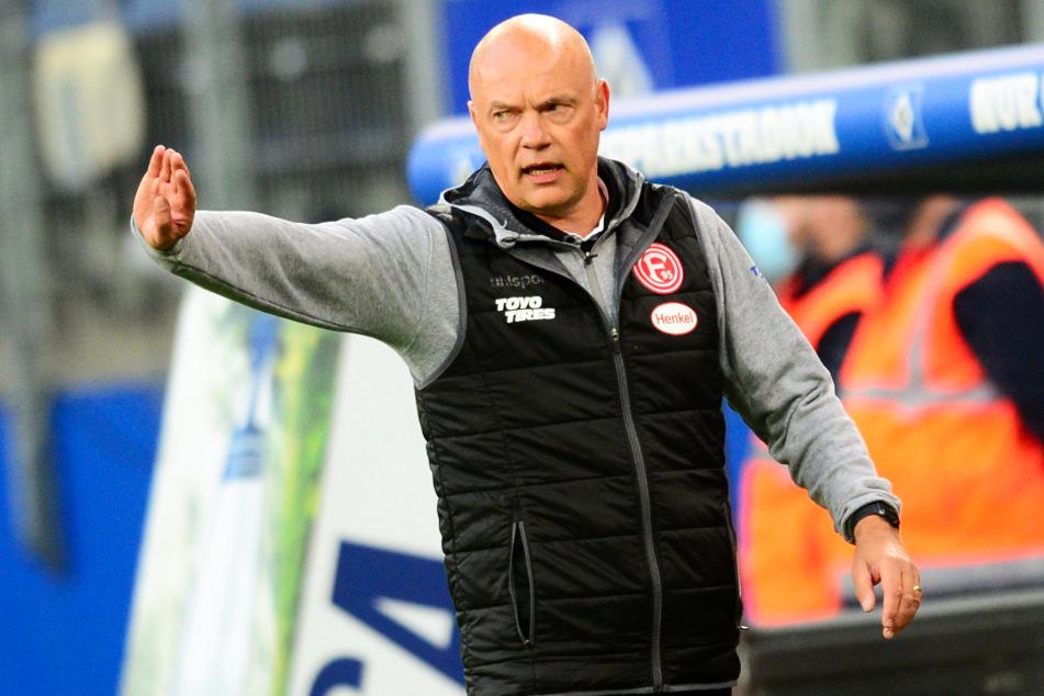 Fortuna-Coach Uwe Rösler steht schon kurz nach Saisonbeginn unter Druck.