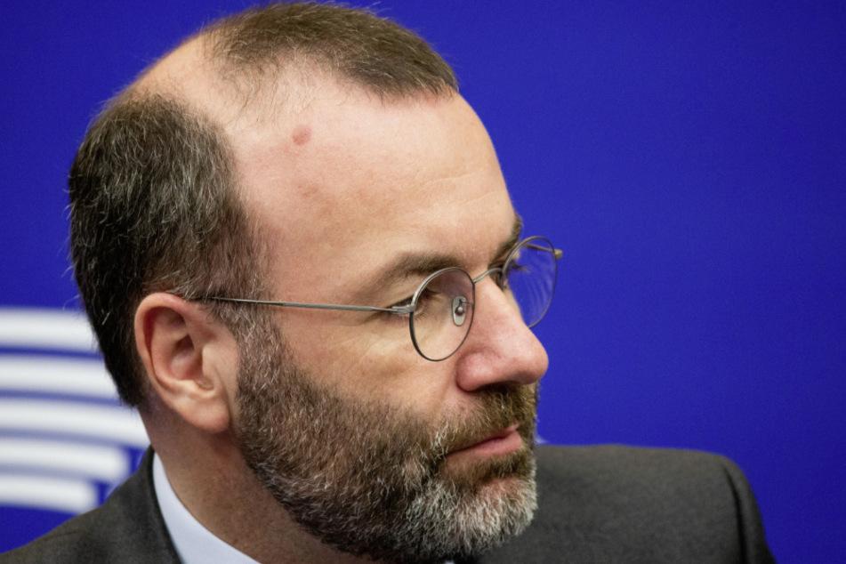 Manfred Weber (48), Fraktionschef der Europäischen Volkspartei im EU-Parlament.