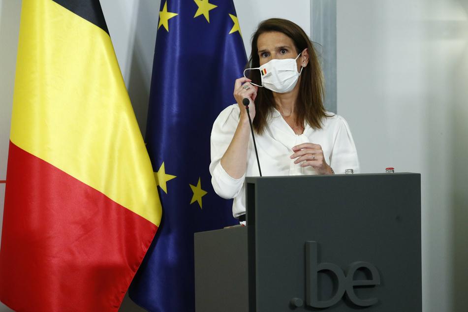 Sophie Wilmès, Premierministerin von Belgien.