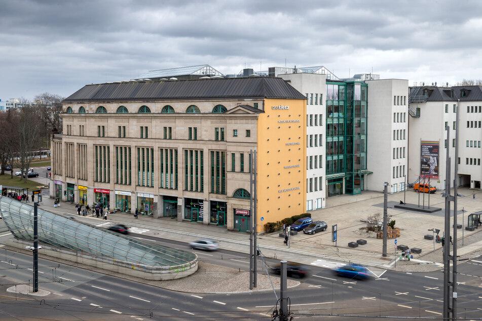 """Das Fotostudio """"DigiArt"""" befand sich am Chemnitzer Tietz."""