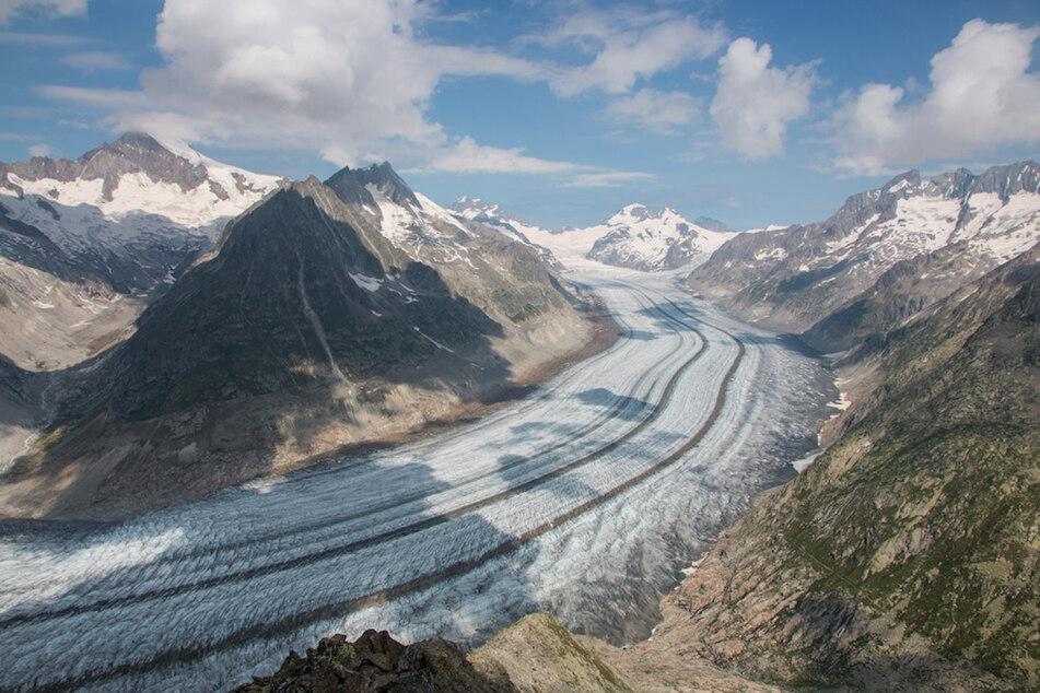 Klimaerwärmung: Rascher Gletscherschwund in den Alpen