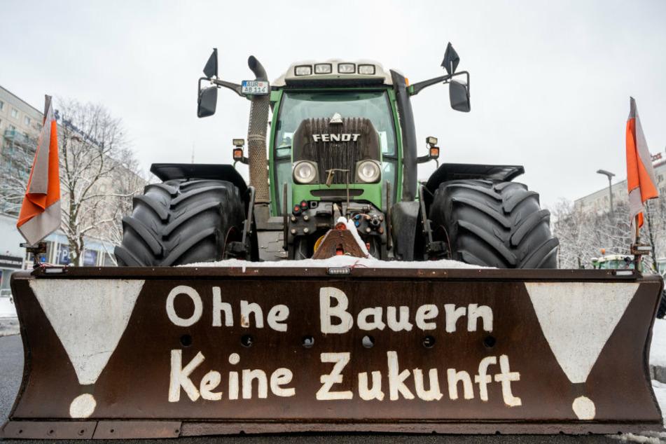Bauern-Demo geht in die nächste Runde: Traktoren ziehen erneut durch Berlin