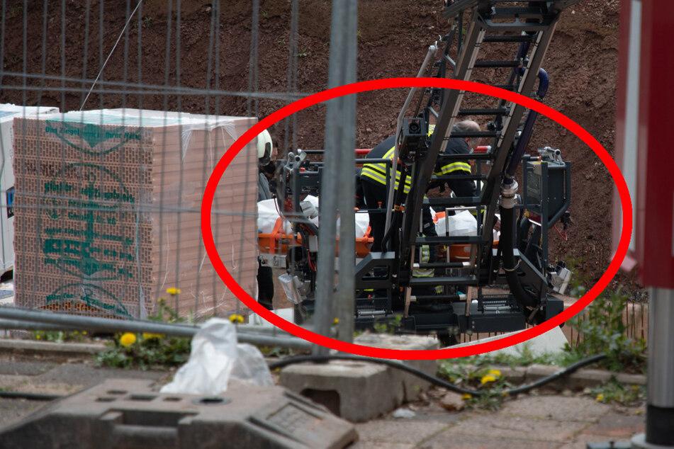 Tödlicher Arbeitsunfall in Darmstadt: Bauarbeiter (†49) von Betonteil erschlagen