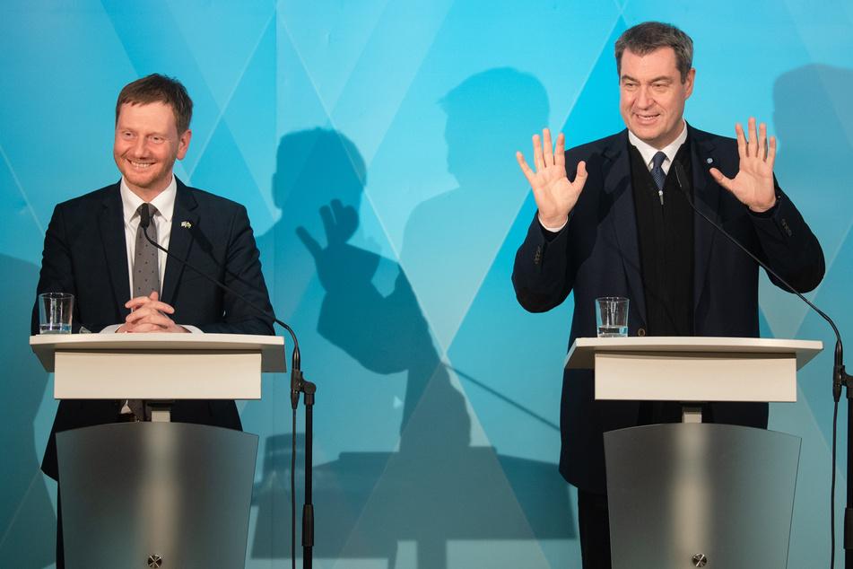 Zehn-Punkte-Plan: Bayern und Sachsen schmieden Anti-Corona-Allianz