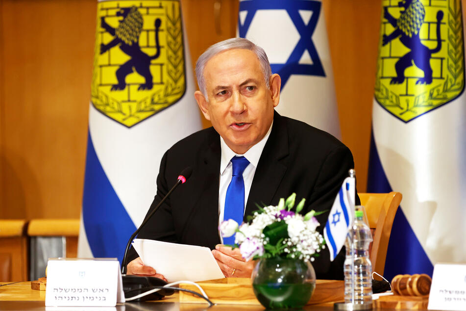 Benjamin Netanjahu (71), Ministerpräsident von Israel.