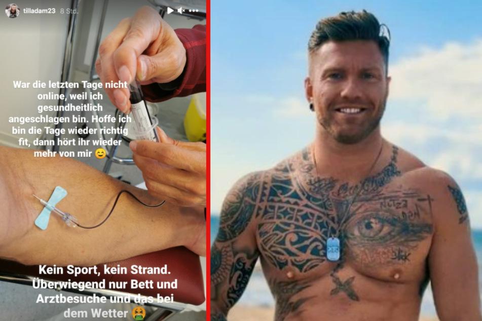 """Till Adam von """"Ex on the Beach"""" meldet sich krank und findet's einfach nur peinlich!"""