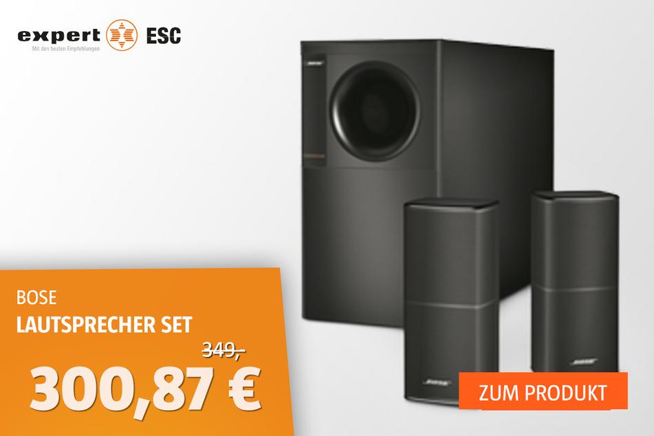 Bose Acoustimass 5 V Set für 300,87 statt 349 Euro