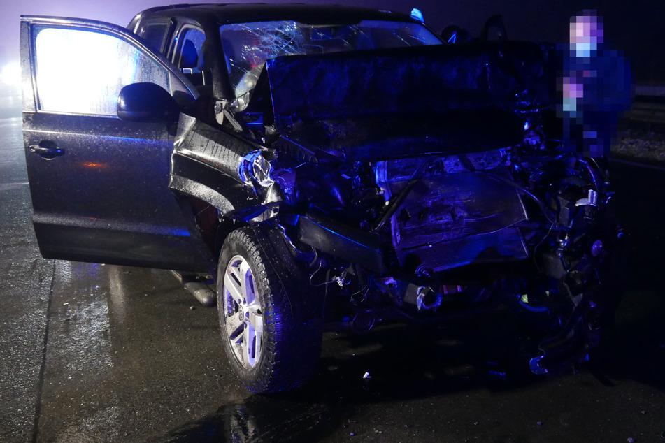 Unfall A1: Crash auf Autobahn: 27-Jähriger verliert Bewusstsein am Steuer