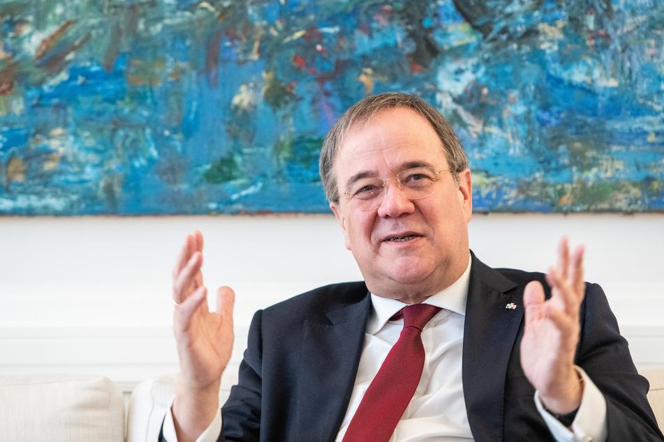 """NRW-Ministerpräsident Armin Laschet (CDU) hat sich gegen einen sogenannten """"Corona-Soli"""" für Reiche ausgesprochen."""