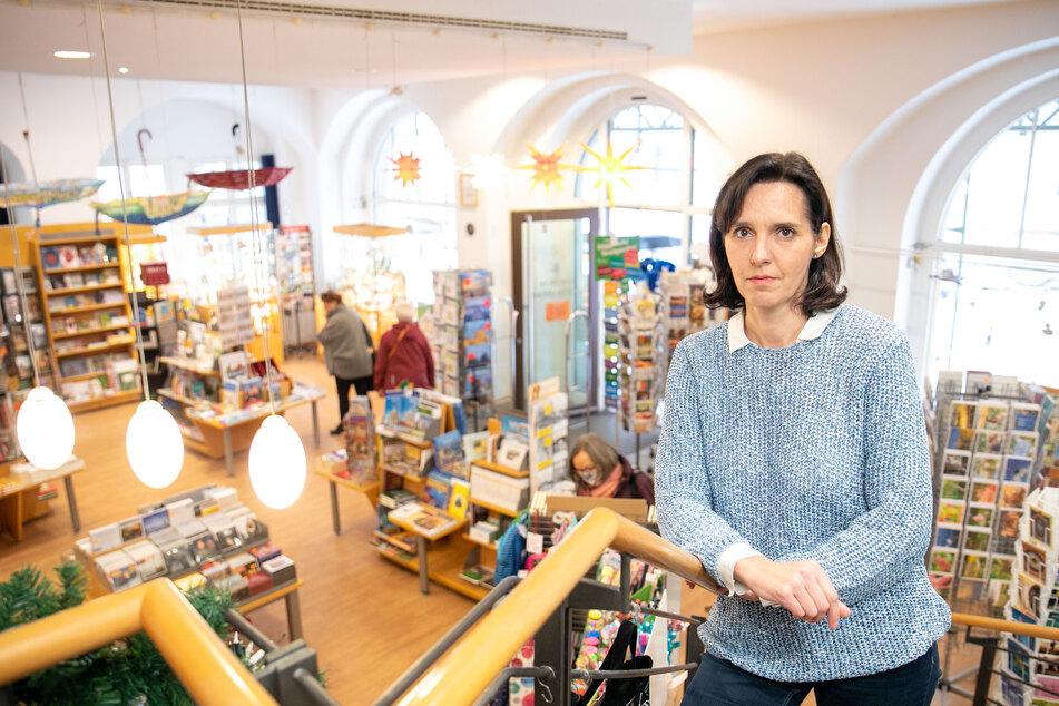 Buchhändlerin Christiane Königsmann (48).