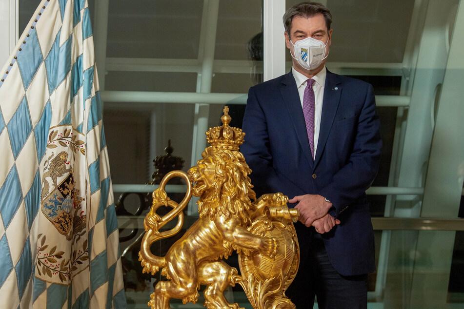 Markus Söder (CSU), Ministerpräsident von Bayern, klagt über eine hohe Impfverweigerung. Er spricht über das Thema Impfpflicht.