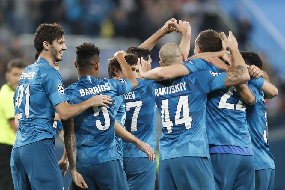 Zenit St. Petersburg holte diese Saison zum zweiten Mal in der Vereinsgeschichte das russische Double.