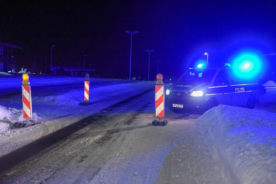 Seit 0 Uhr sind die Grenzen durch die Beamten streng überwacht.